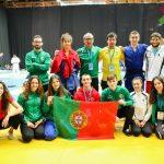 Alice Pereira na comitiva portuguesa do Campeonato da Europa de Cadetes 2018 em Sarajevo