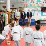 """Cerimónia de encerramento  do programa """"O Judo Transforma"""" no Porto"""