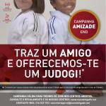 Campanha TRAZ UM AMIGO para os treinos de Judo a decorrer em Outubro!